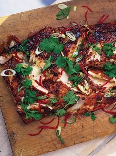 Grilled Salmon   Fish Recipes   Jamie Oliver Recipes - looks delicious! Might just have to try this tonight!