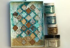 Magical Life Shadow Box photo tutorial for the Simon Says Stamp Blog by Anna-Karin.  August 2014