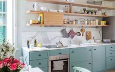 Una guida per scegliere i nuovi materiali che rivestono i top e le ante delle cucine
