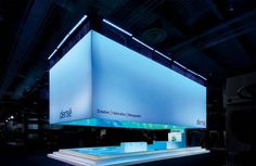 Derse exhibit stand by Moss Inc
