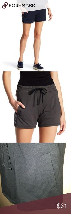 James Perse black Shorts James Perse black Shorts front pockets - cotton James Perse Shorts