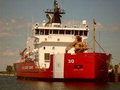 Coast Guard - Great Lakes Docked in Cheboygan MI