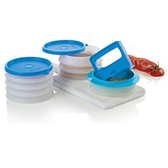 Hamburger Press and Keepers Deluxe!  Part of the amazing TupperSale going on, you need to check it out!