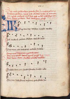 Beheim, Michael: Gedichte Österreich, 3. Viertel 15. Jh. Cgm 291  Folio 419