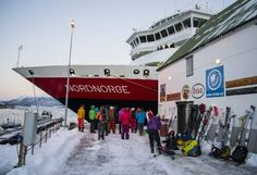 Topptur med Hurtigruten