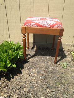 Recovered bandana print bench