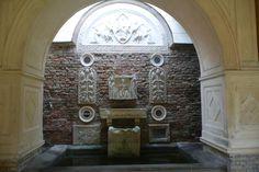 Alte römische Taufstelle an der Friedenskirche in Potsdam