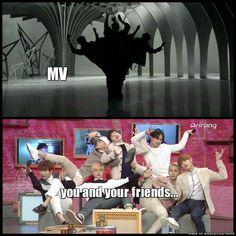 Only if I had more friends that like kpop lol Diecisiete Memes, Funny Kpop Memes, K Pop, Got7, Super Junior, Shinee, Baekhyun, Vixx, K Drama