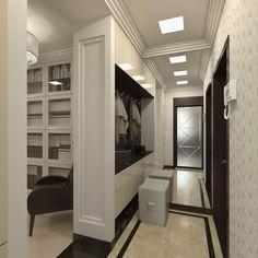 Прихожая №5. Зеркало визуально позволяет увеличить пространство.#anticastyle #антикастайл #design #interior #дизайнинтерьера #дизайнприхожей #прихожая #холл #зеркало