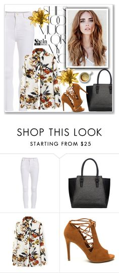 """SheIn"" by amra-mak ❤ liked on Polyvore featuring Rika, women's clothing, women, female, woman, misses, juniors and shein"
