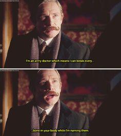 "Sherlock CHRISTMAS SPECIAL - ""The Abominable Bride"" - John Watson"
