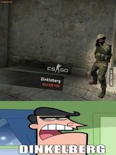 Was playing CS:GO when suddenly...