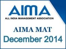 All India Management Association (AIMA), New Delhi has announced the results of Management Aptitude Test (MAT) December 2014 session. AIMA had conducted the MAT December 2014 exam in December 07.