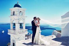 Santorini, Greece | Image by Jules Bower