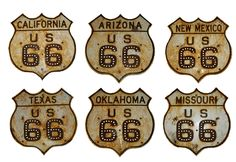 Original Route 66 Signs - Art and design inspiration from around the world - CreativeRoots