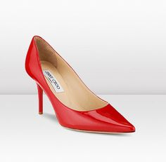Why yes, I'd love a pair of perfect red heels!