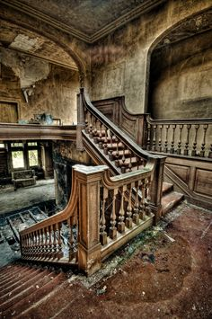 Potters Manor Abandoned