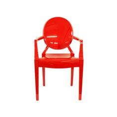 Lou Lou Ghost Red Chair