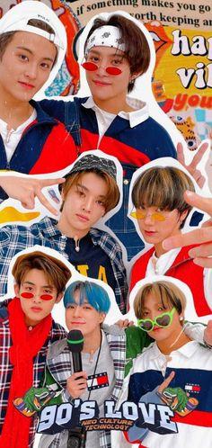 Aesthetic Pastel Wallpaper, Love Wallpaper, 90s Inspired Outfits, Yangyang Wayv, Cute Lockscreens, Nct Album, Mark Nct, Jeno Nct, Nct 127