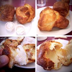 Popovers with Strawberry Butter @ The Dream Cafe in Dallas