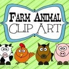 Farm Animal Clip Art set includes: - Pig - Baby Pig - Cow - Horse - Chicken  Cover page graphics by mycutegraphics.com  Please feel free to use thi...