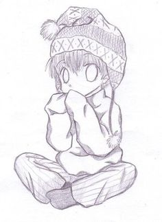 chibi drawings | Anime Chibi Sad Boy - LiLz.eu - Tattoo DE