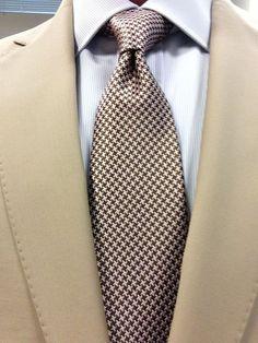 Sam Hober Tie: Pattern Silk Tie http://www.samhober.com/pattern-silk-ties/