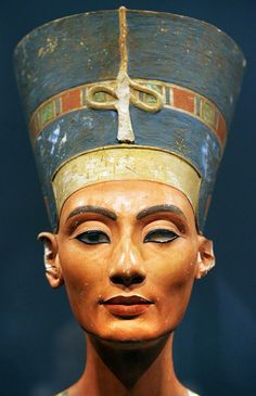 Bust of Queen Nefertiti of Egypt