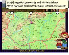 Fotó itt: Magyarország felszíni formái, domborzata, interaktív tananyag 3-4. osztály - Google Fotók Google, Map, Location Map, Maps