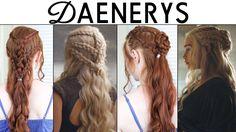 Výsledek obrázku pro daenerys hairstyle