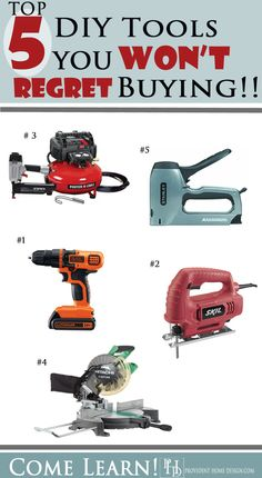 5 Best DIY Tools! Do