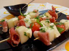 7gramas de ternura: Espetadinhas Deliciosas