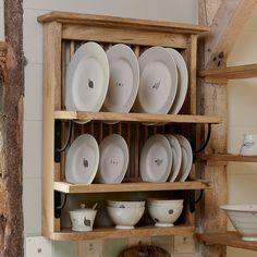 Pantry Shelving, Shelves, Plate Racks In Kitchen, Susie Watson, Minimal Living, Side Plates, Interior Design Kitchen, Dinner Plates, Kitchen Remodel