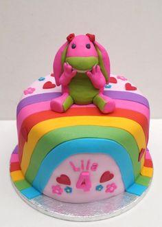 Lila's Lettie rainbow cake with fondant 2nd Birthday, Birthday Parties, Birthday Ideas, Birthday Cakes, Fondant Cakes, Cupcake Cakes, Cupcakes, Gorgeous Cakes, Sugar Art