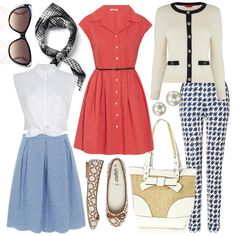 50s Capsule Wardrobe - inspired by Roman Holiday    5      3