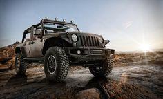 Το πιο εντυπωσιακό Jeep Wrangler  http://www.zougla.gr/automoto/article/to-pio-entiposiako-jep-wrangler  Την πιο «άγρια» και macho έκδοση του δημοφιλούς Wrangler, η οποία έχει δημιουργηθεί σε συνεργασία με τη Mopar και το Centro Stile, παρουσίασε η Jeep στο Παρίσι.