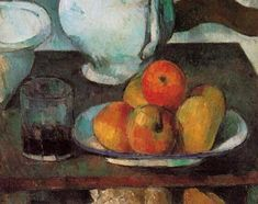 Cezanne. Still Life with Apples. 1879.
