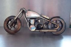 Recycled metal sculpture. by RSWelder on Etsy