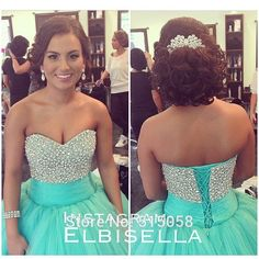 Hot Sale Crystal Beaded Sweetheart Long Tulle Mint Quinceanera Dresses Ball Gowns Girl Sweet 16 Dress Vestido De 15 Anos-in Quinceanera Dresses from Weddings & Events on Aliexpress.com | Alibaba Group