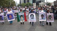 A un año de la desaparición de los 43 estudiantes normalistas de #Ayotzinapa, sus padres, activistas sociales y sociedad cilvil volvieron a llenar las calles de la ciudad de #México para reiterar al #gobierno su exigencia de #justicia y aparición con vida de los normalistas.