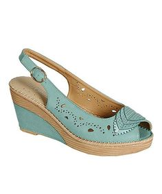 Love this Blue Tilly Slingback Sandal by PINKY FOOTWEAR. Someone like to get them for me? ;0)