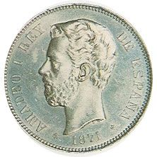 05 Pesetas. (1871)(*18-71) Madrid SD M - MBC