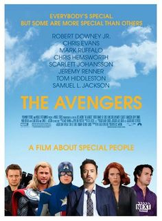 What if..... the Avengers was an independent movie?? Well, here's a suggestion for the movie poster :)