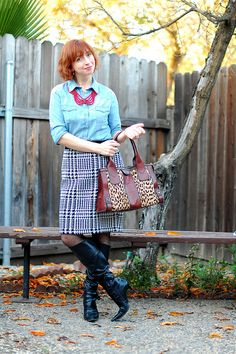 My sweater-knit skirts may not be super flattering, but they are super warm and comfy! Sweater Skirt, Knit Skirt, What I Wore, Comfy, Style Inspiration, Warm, Knitting, Skirts, Sweaters