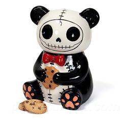 modern cookie jars | furrybones-panda-cookie-jar-big.jpg