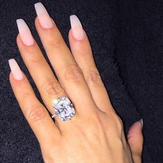 """Hollywood Life: """"Refresh your ring just like Kim with the Connoisseurs Diamond Dazzle Stik, which is a portable diamond cleaner that makes rings sparkle like new!"""""""