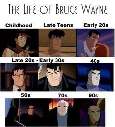 The Life of Bruce Wayne