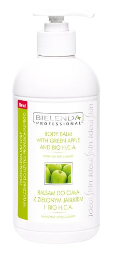Body balm with green apple and BIO H.C.A - BI137260 #salonnorge