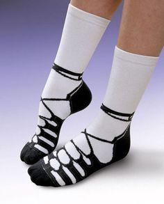 Irish Dance Socks - Kyra would love these!!