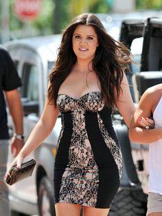 Khloe in Kardashian Kollection lace!!!